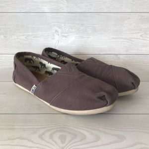 TOMS Alpargata Slip On Canvas Flat